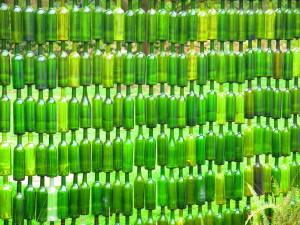 Glass Bottles Shanga Tanzania Crafts